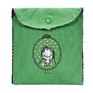 Academyus Sanitary Napkins Bag Menstrual Pouch Nursing Pad Holder Case