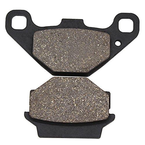 Cyleto Plaquettes de frein arrière pour KAWASAKI KMX 125 1986-2003 KX125 KX 125 1987 1988 KMX 200 KMX200 1988-1992 KLR 650 1995-2004