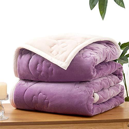 ADGAI flanel fleece gooien dekens Lucky klaver super zacht pluizig bed gooit dekens warme bank kerst gooit ivoor deken sprei