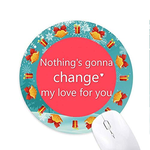 rien ne changera mon amour tapis de souris souris ronds cadeaux de noël