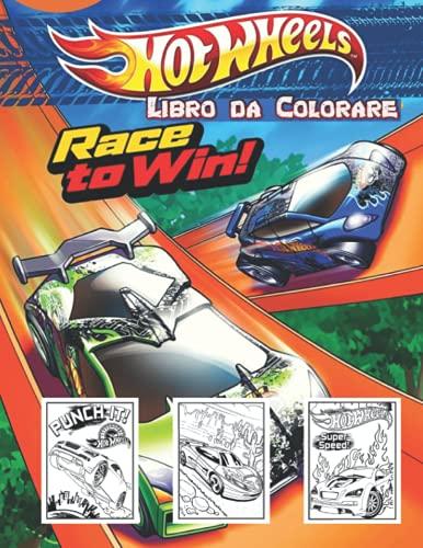 Hot Wheels Libro da Colorare: 60 pagine da colorare perfette per gli amanti di Hot Wheels, con illustrazioni di alta qualità da colorare per tutte le età