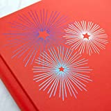 Creative Memories Creative Memories 12x12 True Red Festive Fourth Album Cover Fourth of July Fireworks Scrapbook Cover Only