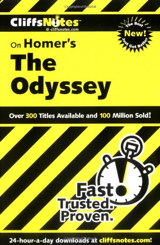CliffsNotes on Homer's The Odyssey (Cliffsnotes Literature Guides)