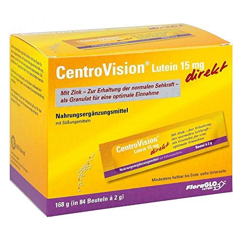 CENTROVISION Lutein 15 mg direkt Granulat, 3X28 St
