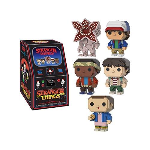 Stranger Things Funko Pop! TV 8-Bit 5pc Arcade Box (Mike, Dustin, Lucas, Eleven, Demogorgon)