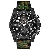 Citizen Eco-Drive Promaster Tough Quartz Reloj para hombre, acero inoxidable con correa CORDURA Camuflaje (Modelo: CA0727-12E)