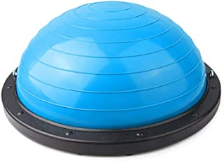 GLJJQMY Yoga Ball Balance Hemisphere Fitness Pilates Ball Massage Balance Ball (Color : A)