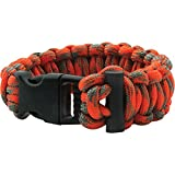 UST ParaTinder Bracelet with Heavy Duty Paracord, Flammable Thread Core and Fire Starter for Emergency, Hiking, Camping, Backpacking or Outdoor Survival