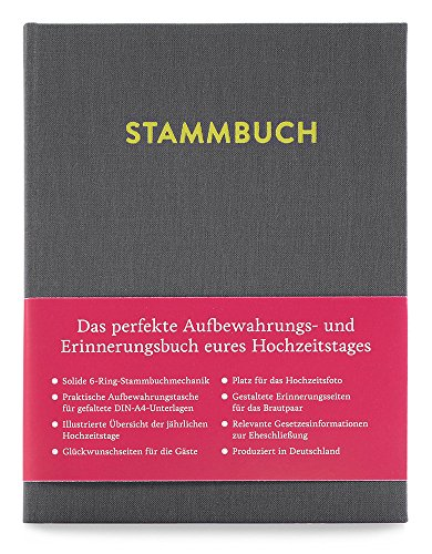 GLÜCK & SEGEN ALLES MIT LIEBE Modernes Stammbuch der Familie A5, Familienstammbuch Paul...