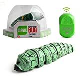Primst Infrared Remote Control Caterpillar Toy, Funny Rc Animal Toy, Novelty Gaggle Toy (Green)