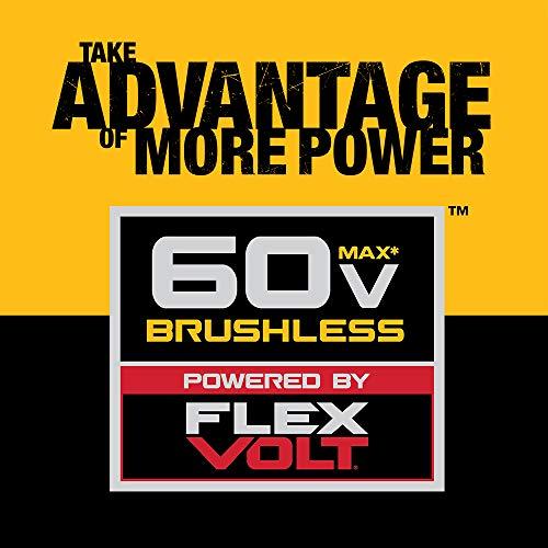 DEWALT FLEXVOLT 60V MAX Chainsaw Kit, 3-Ah Battery, 16-Inch (DCCS670X1)