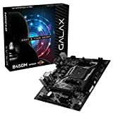 GALAX B450M Motherboard for AMD Ryzen 1st, 2nd and 3rd Gen CPU with SATA 6Gbps, DDR4 32GB, HDMI, DVI-D, VGA, USB 3.1 Gen 1