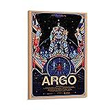 OUYJ Filmposter Argo, Leinwand-Kunst-Poster und