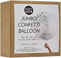 Knot & Bow Jumbo Confetti Balloon - Blue by Knot & Bow