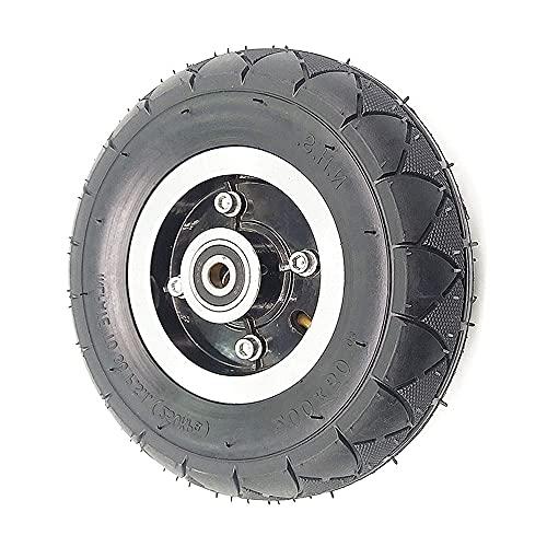 HAOJON Neumáticos eléctricos de la vespa, 8 pulgadas Scooter eléctrico delantero y trasero ruedas 200x50 antideslizante resistente al desgaste piezas de repuesto, 1 rueda neumática