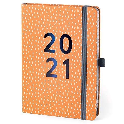 (auf Englisch) Boxclever Press Perfect Year Kalender 2021. Attraktiver Terminplaner 2021 von Jan.-Dez. 2021. A5 Tagesplaner für die effiziente Planung und Organisation hektischer Terminpläne.