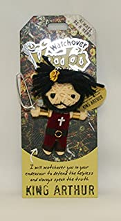 Watchover Voodoo King Arthur Toy Keychain/Backpack, Multicolor, X-Large/One Size
