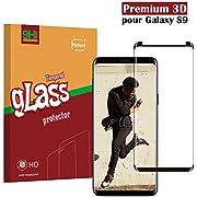 Samsung Galaxy S9 Panzerglas Schutzfolie, Hohe Qualität 3D Displayschutzfolie [9H Härtegrad] [Ultra Klar] [Anti-Kratzen] [Anti-Fingerabdruck] [Blasenfreie Installation] Gehärtetes Glas Panzerglas Folie für Samsung Galaxy S9