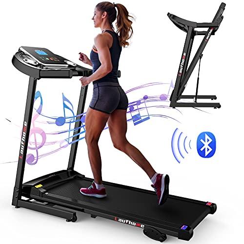 LAUFHOME Folding Treadmill for Home, Motorized Jogging Running Machine,...