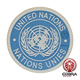 Cobra Tactical Solutions Military Patch en PVC Nations Unies/United Nations/UN PVC Patch avec...
