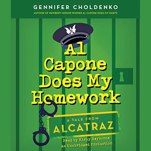 Al Capone Does My Homework audiobook cover art