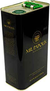 Mr. Papou's | Extra Virgin Olive Oil | First Cold Pressed | Family Owned | Harvested in Greece | 3 Liter - 101.4 fl oz