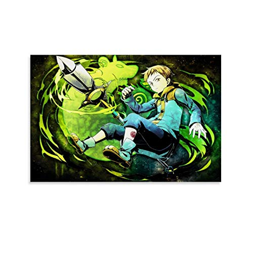 yanhony Poster sur toile The Seven Deadly Sins Grizzly Sin of Sloth King - 50 x 75 cm