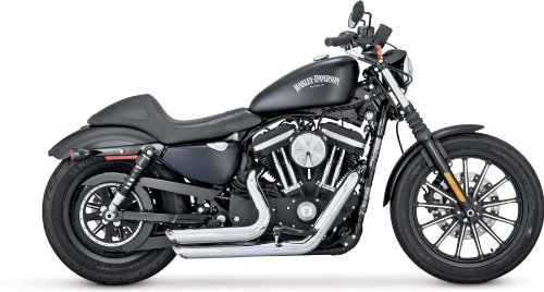 Vance & Hines Shortshots Staggered cromati per Harley Davidson Sportster 14-15