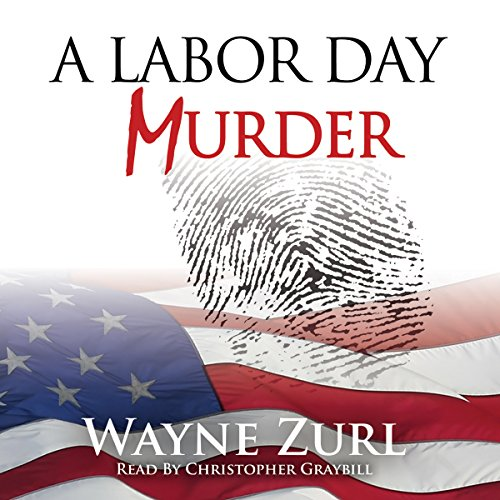 A Labor Day Murder audiobook cover art