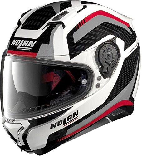 Nolan N87 Arkad N-Com Metal White M