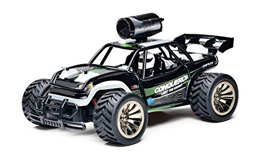 KOOWHEEL RC Coche con Cámara, Off-Road 1/16 Buggy Vehicle Remote Control Muy rápido 16km / h con 2 baterías Recargables Radio Control Cars con Receptor 2.4GHz Wireless