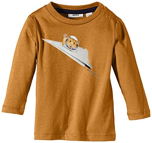 MEXX Baby Boys T-Shirt C&S, Orange (Marmalade Heather 881), FR: 3 Mois (Taille Fabricant: 62) Bébé garçon