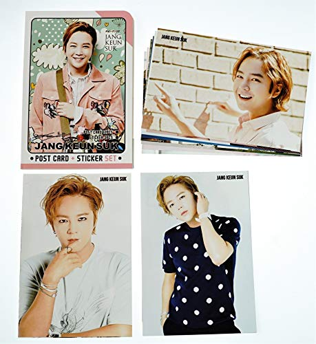 チャン・グンソク ポストカード セット ( ポストカード 12枚 + ステッカー 3枚 ) 15点セット
