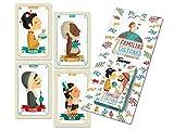 Tutti Confetti- Familias de 7 Países Baraja de Cartas Educativa Infantil (Naipes Heraclio Fournier...