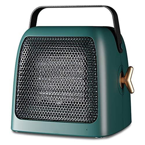 Calentador de espacio, 1500W / 750W portátil electrónica de la habitación calentador, inteligente de control de temperatura y de iones negativos purificación, el depósito y protección contra sobrecale