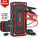 YABER Car Jump Starter, Upgrade 1600A Peak 20000mAh Car Battery Booster Jump Starter