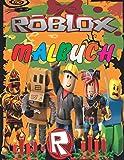 Roblox Malbuch: +40 Premium ROBLOX Bilder und erstaunliche Roblox Malbuch für Kinder und Erwachsene, Stress abbauen Roblox Buch, 8,5 × 11 Zoll