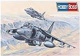 Hobby Boss 081804 1/18 AV-8B Harrier II Kit de modélisme ferroviaire en Plastique Multicolore