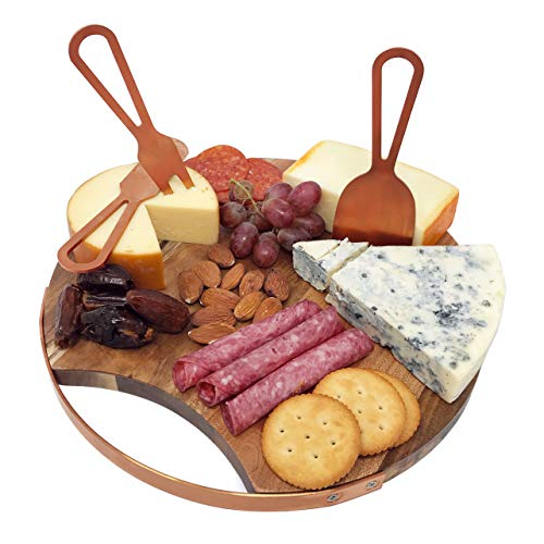 Magnetic Cheese Board with Utensils