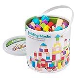 New Classic Toys Jeu Éducatif pour Enfants Baril de Cubes -...