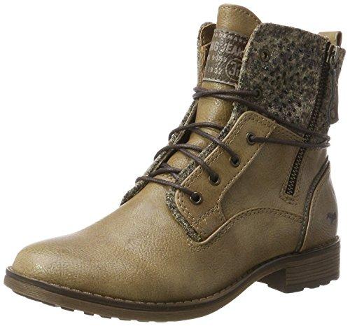 Mustang Shoes Boots in Übergrößen Taupe 1265-504-318 große Damenschuhe, Größe:43