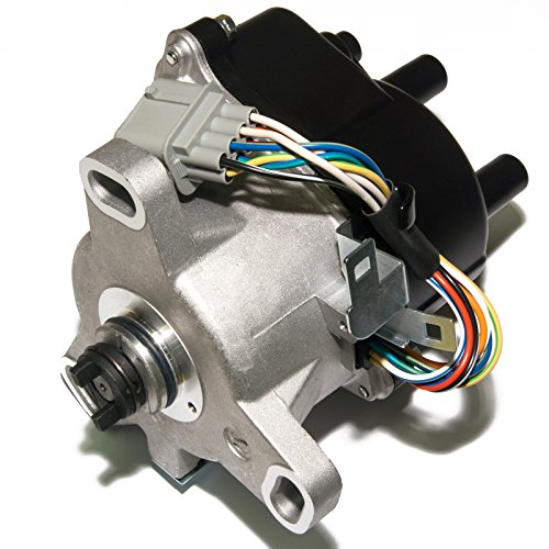 MAS Ignition Distributor w/Cap & Rotor TD-63U TD63U compatible with HONDA CIVIC ACURA EL 1.5L 1.6L SOHC ACCORD 2.3L TD-73U TD-91U
