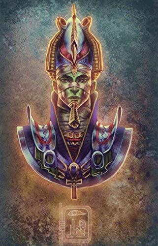 WXAJY Puzzles 1000 Piezas para Adultos - Estatua del Faraón - Decoraciones para El Hogar Puzzles Rompecabezas Educativos Regalo del Festival De Navidad
