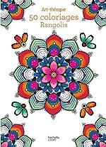 50 coloriages Rangolis d'Elena Lopez