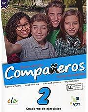 Compañeros 2 cuaderno de ejercicios. Nueva edición (Companeros: Exercises Book with Access to Internet Support: Curso de Espanol)