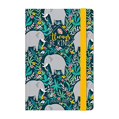 Legami - Agenda Settimanale 18 Mesi 2020/2021 Medium, con Notebook, Be Kind