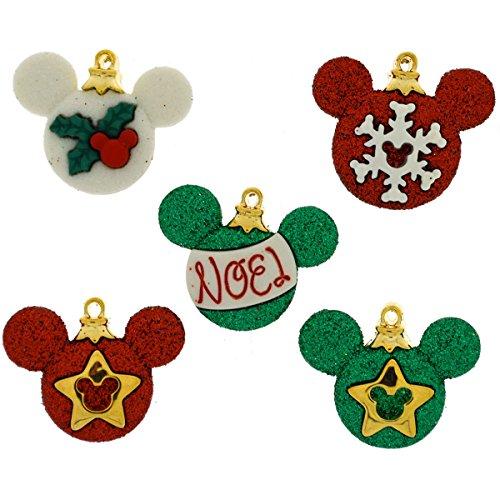 Dress It Up 8233 Disney Button & Embellishments, Mickey Ornaments