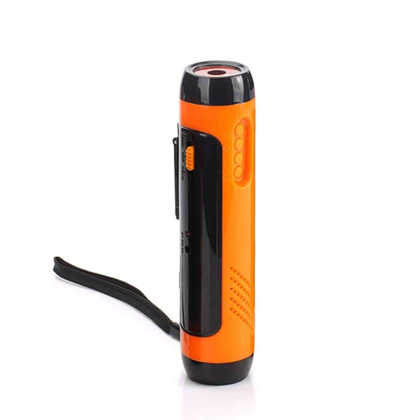 flashlights high lumens-Alarm FM Radio Mobile Phone Charging Hand-operated Power Generat