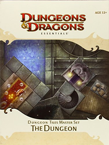 Dungeon Tiles Master Set - The Dungeon: an Essential Dungeons & Dragons Accessory