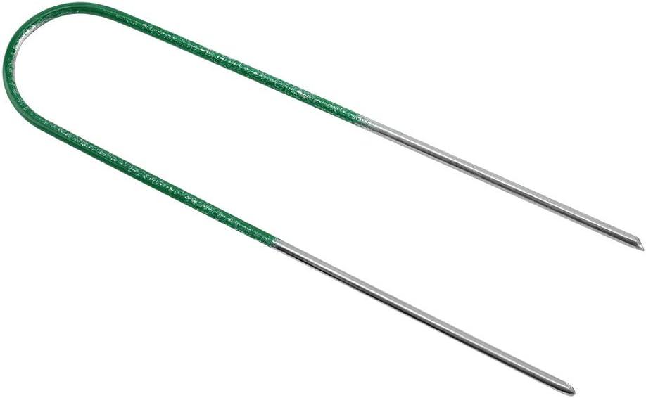 Max 76% OFF KXIUOA New item Artificial Grass Pins 100Pcs Turf Steel